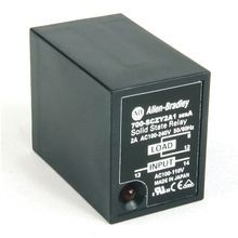Ice Cube Style, Socketed, Solid-State Relay, w/ LED Diag. Indicator, w/ Zero Cross Function, Rated Output of 2 Amp @ 100...240V AC, Rated Input of 100/110V AC