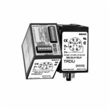 Littelfuse® TRDU Multifunction Time Delay Relay, 10 A, 8 Pins, DPDT Contact Form, 120 VAC Coil