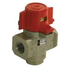 SMC® VHS Pressure Relief Valve With Locking Holes, 1/2 in, FNPT, 0.1 to 1 MPa, Die Cast Aluminum Body
