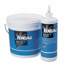 IDEAL® Aqua-Gel® II 31-378 Cable Pulling Lubricant, 1 qt Squeeze Bottle, Gel, Blue, 0.98