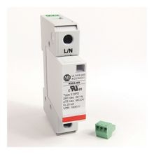 4983 Surge and Filter Protection, Din Rail Mount, UL 1449, 230-240V AC, 40kA, 1 Pole Configuration