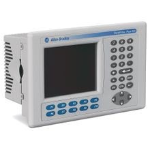 2711 PanelView Plus 6 Terminal, 600 Model, Keypad/Touch, Color, RS-232 Communication Only, AC Input, Windows CE 6.0