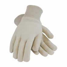 PIP® 95-606C Medium Weight Protective Gloves, Ladies, Natural, Reversible, Straight Thumb