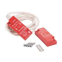 Ferrogard FRS2, Rectangular, Molded ABS Red Plastic, Switch & Actuator 24VDC (1A max Switching Capability)1 N.C. Safety Contact 1 N.O. Aux Contact ,,2 M Cable