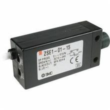 SMC® ZSE1-00-55CL ZSE1 2-Color Display CoMPact Pressure Switch, 0 to 101 kPa, FNPT