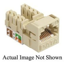 CommScope CC0020578/1 UNJ Type UTP Cat 5e IDC Termination Modular Jack, Thermoplastic, White