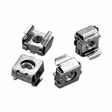 Hoffman P1032CN Cage Nut Package, For Use With Square Hole Rack Angles, 10-32 Cage Nut, UNF Thread, Steel, Silver