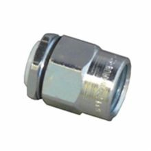 Appleton® HUB-75 Straight Conduit Hub, 3/4 in, For Use With Rigid/IMC Conduit, Steel, Zinc Plated