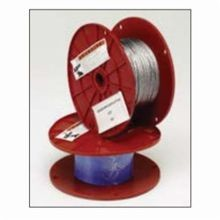 B-Line KwikWire™ BKW063 Wire Pulling Rope, 1/16 in Dia x 500 ft L, 96 lb Load, Steel, Uncoated Galvanized