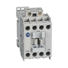 100-C IEC Contactor, 240V 60Hz, Screw Terminals, Line Side, 16A, 0 N.O. 1 N.C. Auxiliary Contact Configuration, Single Pack