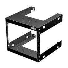 Hoffman E19FWM12U20 Fixed Wall Mount Rack, 20 in H x 20 in W x 23 in D, 150 lb