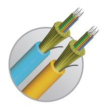 dura-line 20002969 OM3 Fiber Optic Riser Cable, 12 Fiber, 50 um Core, 3000 ft L