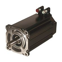 Bulletin MPL - Low-Inertia Brushless Servo Motors Product, 230 V, Frame Size 4 = 115 mm (4.53 in.), Stack Length 30 = 76.2 mm (3.0 in.), 5000 RPM, 2000 Line Incremental Encoder. Keyed Shaft Extension, SpeedTEC DIN Connector, Right Angle, No Brake