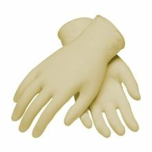 PIP® Ambi-dex® 62-322PF-L Industrial Grade Disposable Gloves, L, White, Ambidextrous, Natural Latex Rubber