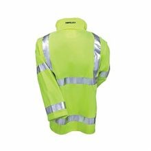 Tingley J24122-XL Icon™, J24122 Rain Jacket, Men's, XL, Hi-Viz Yellow/Green/Black, Polyurethane/Polyester, 56 in Chest