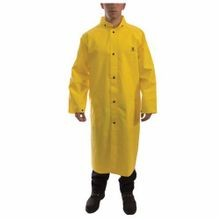 Tingley C56207-XL C21207 3-Piece DuraScrim™ Rain Coat, XL, Yellow, PVC/Polyester, 53 in Chest