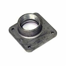 Milbank® A7516 Meter Socket Hub, 1-1/2 in NPT, For Use With Small RL Opening Meter Socket, Aluminum, Painted