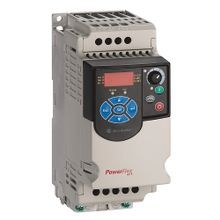 PowerFlex4M AC Drive, 120VAC, 1PH, 1.6 Amps, 0.2 kW, 0.25 HP,Frame Size A, IP20 (Open), LED Display, Fixed Digital Keypad, No CE Compliant Filter, No Brake Drive