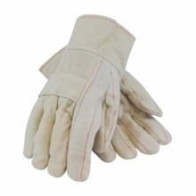 PIP® 94-924 Men's Premium Grade Hot Mill Gloves, Natural, 2-Layer/Straight Thumb