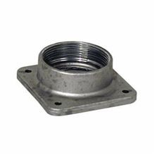 Milbank® A7517 Meter Socket Hub, 2 in NPT, For Use With Small RL Opening Meter Socket, Aluminum, Painted