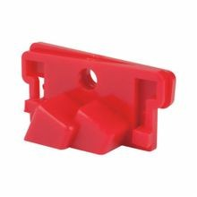 North® by Honeywell CB01 1-Pole Clamp-On Circuit Breaker Lockout, Red, Polyamide Plastic, For Use With Single Pole Breaker
