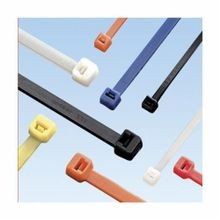 Panduit® Pan-Ty® PLT1M-C3 Miniature Cable Tie, 3.9 in L x 0.098 in W x 0.043 in THK, Nylon