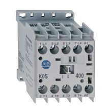 Miniature Contactor, Screw Type Terminals, 5 A, System Control Voltage: 240V 50/60Hz, 3 N.O. Main Contacts, 1 N.O. Auxiliary Contact, 1