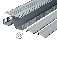 Panduit® DRD44LG6 Slotted Panduct® PanelMax™ Wiring Duct, 0.31 in, 8-1/4 in W x 4.12 in D, PVC