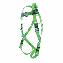 Miller® by Honeywell RPC Harness, Unisex, L/XL, 400 lb, Green, Vinyl Coated Strap