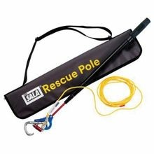 3M DBI-SALA Fall Protection 8900299 Rescue Pole, 2.16 to 8.66 ft Extension Pole, For Use With Self-Rescue Detachable Descent Device, Aluminum, Black