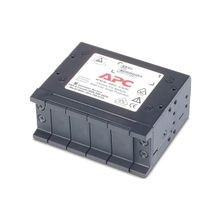 APC® PRM4 Surge Protection Chassis, For Use With Replaceable Data Line Surge Protection Modules/1U, Black