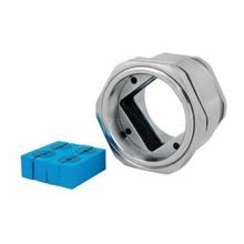 Roxtec RG00063040021 Type RG M63 Cable Gland Assembly Kit, For Use With 1.575 in H x 1.575 in W Adaptable Sealing Modules, 316 Stainless Steel
