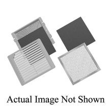 Hoffman SG1300404 Square Standard Exhaust Grille Kit, Plastic