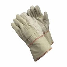 PIP® 94-932G Men's Premium Grade Hot Mill Gloves, Natural, 3-Layer/Straight Thumb