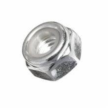 BBI NE Standard Lock Nut With Nylon Insert, Imperial, 7/8-14, Right Hand, 2, Low Carbon Steel, Zinc Clear Trivalent