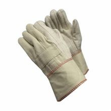 PIP® 94-924G Men's Premium Grade Hot Mill Gloves, Natural, 2-Layer/Straight Thumb