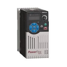 PowerFlex 523 AC Drive, 480 VAC, 3 Phase, 3 HP, 2.2 kW Normal Duty; 3 HP, 2.2 kW Heavy Duty, Frame A, IP20 NEMA / Open Type, No Filter