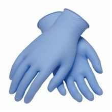 PIP® Ambi-dex® 63-332PF-XS Heavy Duty Industrial Disposable Gloves, XS, Blue, Ambidextrous, Nitrile