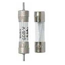 Bussmann AGC-6-1/4-R Small Dimension Fast Acting Fuse With Nickel Plated Brass End Caps, 6-1/4 A, 250 VAC, 200 A, 10 kA, Cylindrical Body