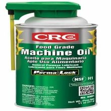 CRC® 03081 Food Grade Non-Drying Thin Machine Oil With Perma-Lock™, 16 oz Aerosol Can, Liquid, Clear