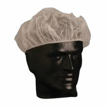 PIP® 200-BC24 Disposable Bouffant Cap, SZ 1, 24 in Dia, White, Polypropylene