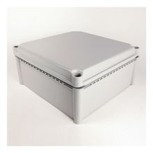 598 Definite-Purpose General-Purpose Enclosure, 280 mm x 190 mm x 180 mm (11.02 in. x 7.48 in. x 7.09 in.), Clear Cover
