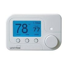 Lumina™ RF RC-1000 Omnistat2 Conventional Single Stage Heat Pump Thermostat, 1.2 in H x 3.65 in W