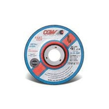 CGW® 36229 Fast Cut Depressed Center Wheel, 7 in Dia x 1/8 in THK, 7/8 in, 24 Grit, Aluminum Oxide Abrasive