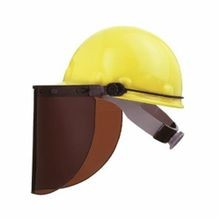 Fibre-Metal® by Honeywell FM70 Hard Hat Adapter, For Use With Non-Slotted Hard Caps and Vision Windows, Aluminum