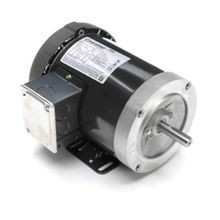 REGAL® G581 AC Motor, 0.5 hp, 208 to 230/460 VAC, 2.3 to 2.4/1.2 A, 60 Hz, 3 Phase, 56C Frame, 1725 rpm, Bolt-On