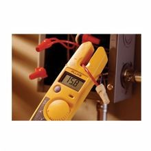Fluke® T5-1000-USA Heavy-Duty Voltage Continuity and Current Tester, 0 to 600 VAC/VDC, 0.03, 1000 Ohm