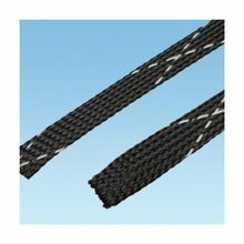 Panduit® SE50PFR-DR10 Expandable Braided Sleeve, 1/2 in Dia x 500 ft L, Polyethylene Terephthalate, -94 to 257 deg F