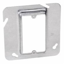 Steel City® 72-C-14 Outlet Box Cover, 4-11/16 in L x 4-11/16 in W, Steel