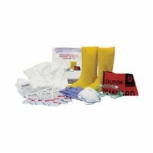 North® by Honeywell 130023S Resealable Biohazard Response Kit, 28 Pieces, S